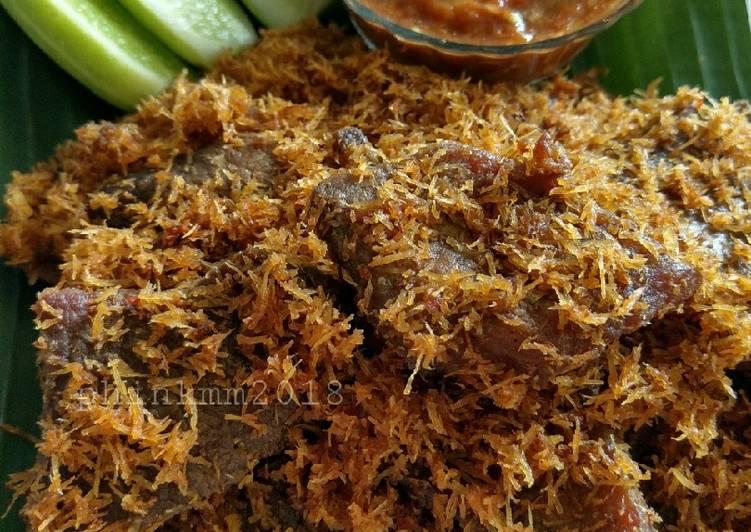 Dendeng ragi daging sapi
