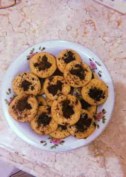 Kue cubit topping cookies