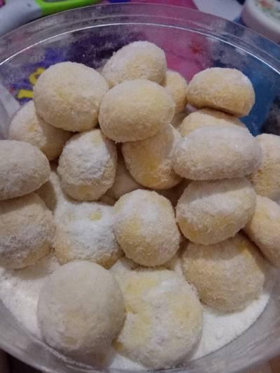 Putri Salju Kelapa - Coconut Snow Ball