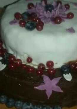 Kek yang saya buat untuk hari lahir bapa saya