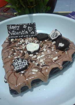 Easy valentine cake