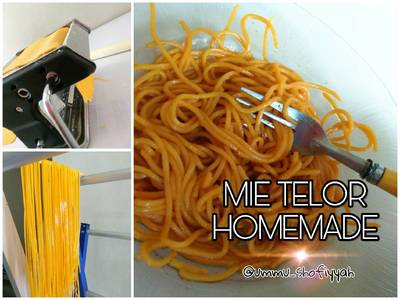 Mie Telor Wortel Homemade