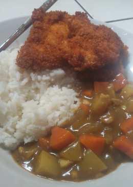 Nasi Curry ¥ Chiken Katsu
