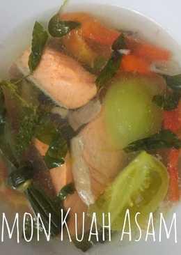 Salmon Kuah Asam Pedas
