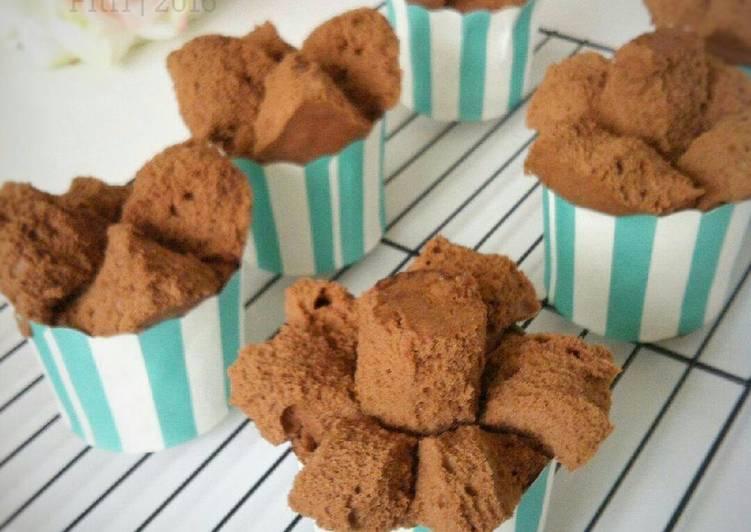resep lengkap untuk Brownies Kukus Mekar Ny Liem