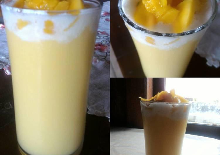 Jus mangga (manggo Thai)
