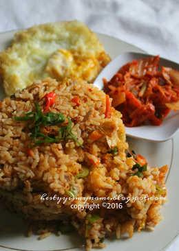 Nasi Goreng kimchi Tuna Pedas