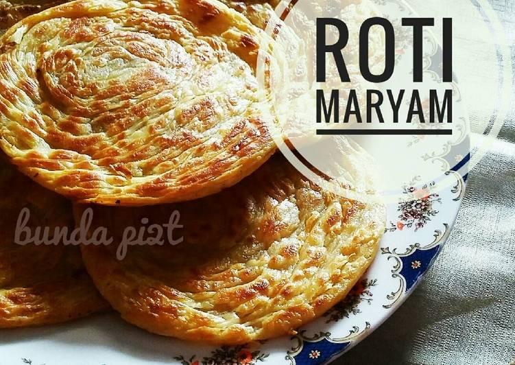 Resep Roti Maryam/Canai/Pratha Oleh Dini Fipit Agustin