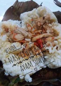 Nasi liwet ayam bakar