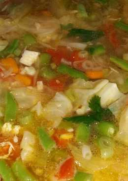 Sayur sop goreng