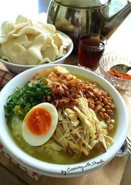Bubur Ayam Jakarta (#pr_homemadestreetfood)