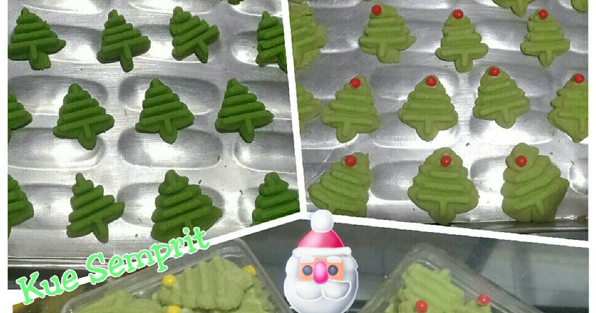 Resep Kue Semprit -Christmas tree