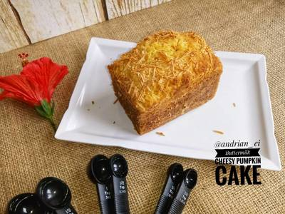 Buttermilk Cheesy Pumpkin Cake