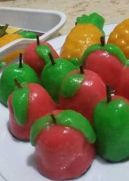 Kue ku / kue tok isi kacang hijau + tips sukses