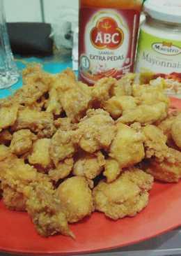 Ayam crispy mayonnaise tanpa tulang mudah gak ribet 😍😘