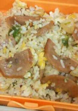 Nasi Goreng Rawit pake Bakso