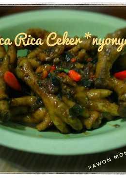 Rica Rica Ceker *nyonyor*
