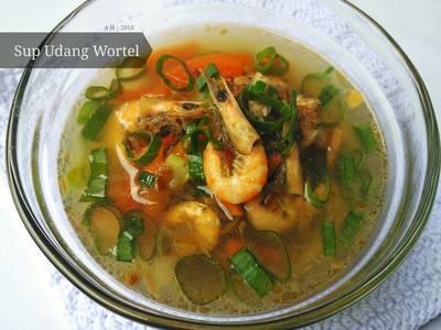 Sup Udang Wortel