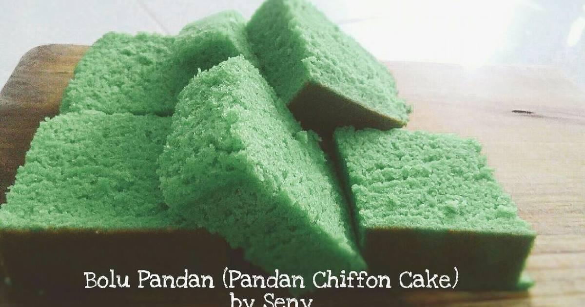 Resep Bolu Pandan Lembut (No Santan w/rice cooker)
