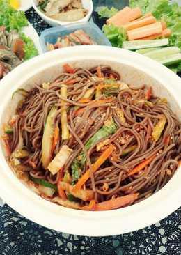 막국수 (Korean Cold Soba Noodle)