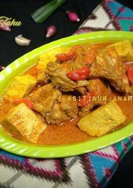 Gulai Ayam dan Tahu