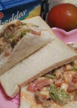 Sandwich bakso