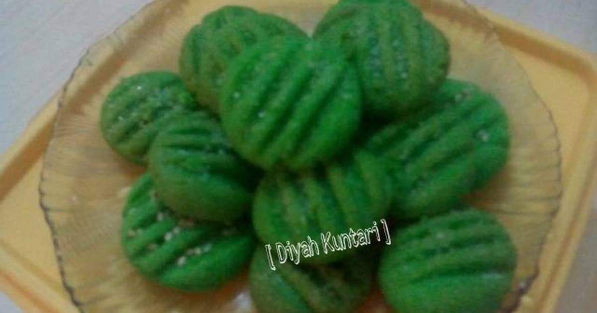 Resep Pandan Cookies