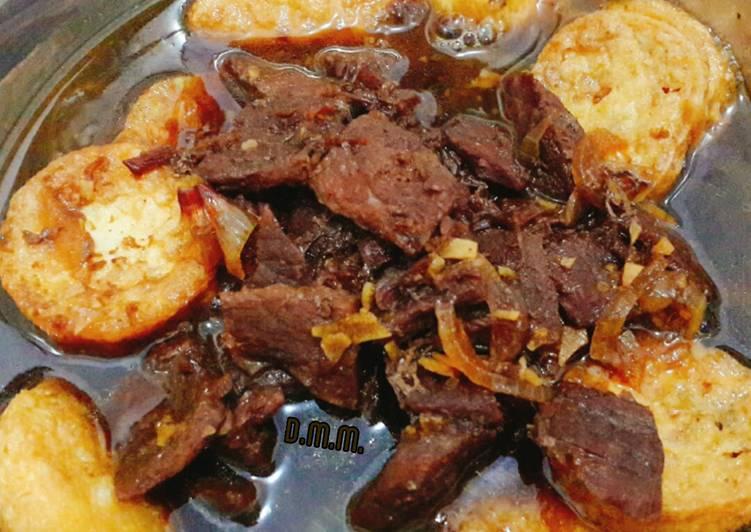 Beef teriyaki + tofu (balita)