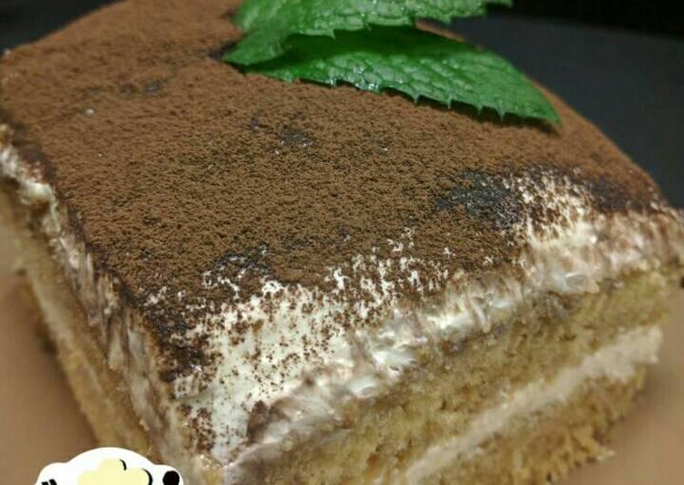Resep Cake Tiramisu Jtt: Resep Tiramisu Cake *no Scale, No Oven, No Mixer* Oleh