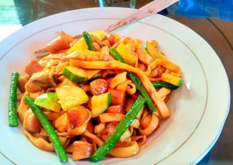 gambar untuk resep Kwetiau goreng