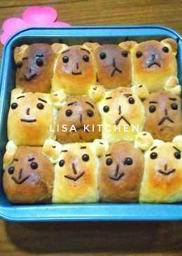 #2 Roti Beruang tanpa telur / Eggless Bear bread #SelasaBisa