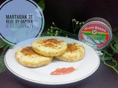 Martabak 3T(telur tuna tsubu)keju #ketopad_cp_savorysnack