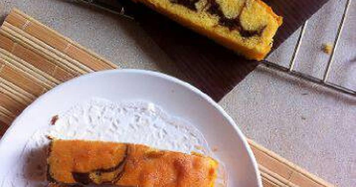 Resep Marmer Cake anti gagal