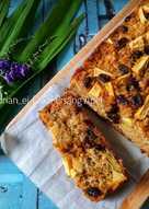 Cake Pisang Apel (Tanpa Mixer)