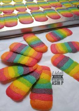 Lidah Kucing Rainbow...Renyah,Kres-Kres...🌈