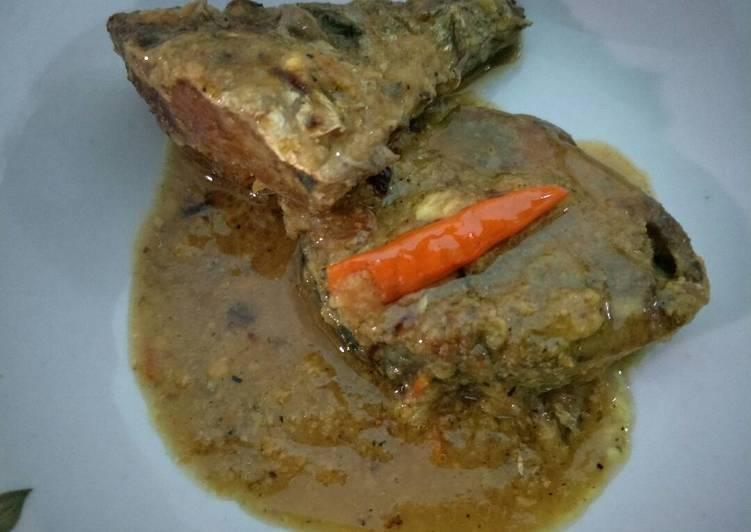Ikan Tuna bumbu kuning No santan