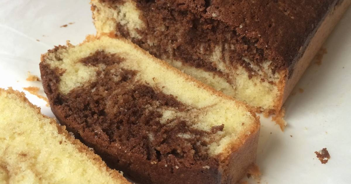 Resep Mocca marble cake