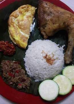 Nasi Uduk Kembang Kol Instant (keto friendly)