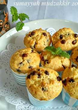 Muffin choco vanilla