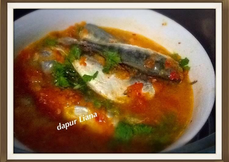 Steam / kukus ikan selar sambal (ala diet)