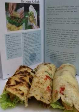Kebab ala diet kenyang hughes no tepung
