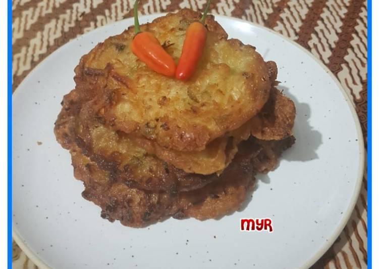 Bala bala goreng jumbo pedas homemade