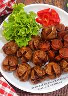 Baso bakar saos barbeque #Bandung_recookTatiNoerh