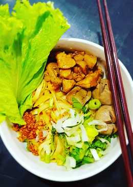 Mie Ayam home made