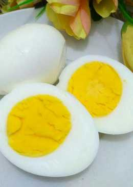 Telur rebus hemat gas 😀