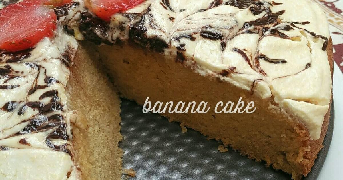 Resep Banana Cake (butter cake style)