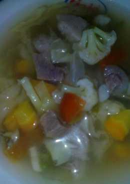 Sayur Sop Bakso Daging Irit (non MSG)