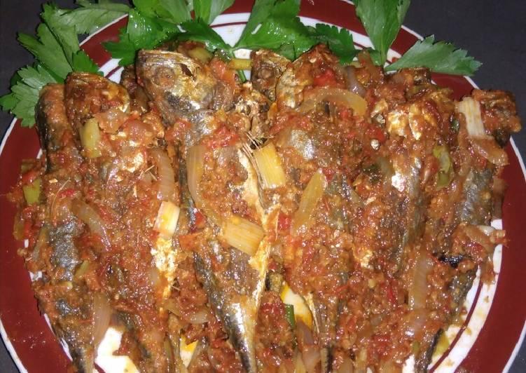 Sambal Goreng Ikan Tongkol Kacangan
