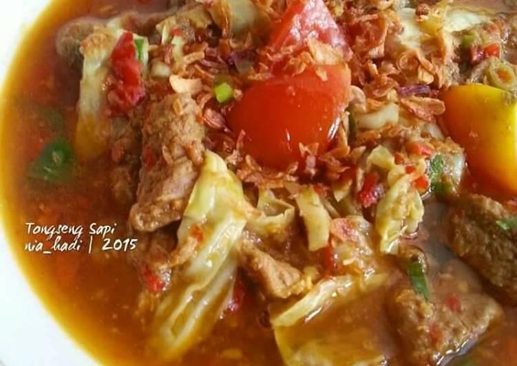 Resep Tongseng Sapi - Nia Hadi