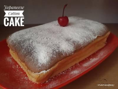 Japaneese Cotton Cake #beranibaking